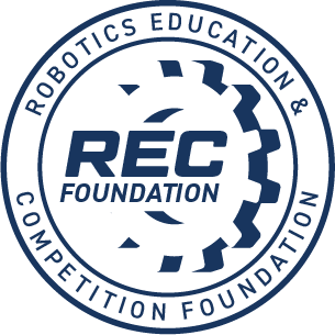 The REC Foundation logo.